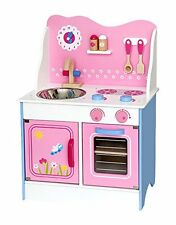 Viga Wooden Fairy Kitchen with Accessories - Kids/Children's Toy