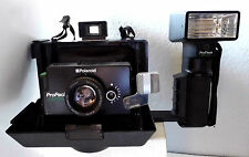 Polaroid ProPack Instant Film Camera & ProPack Flash + Timer & Strap - TESTED