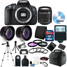 Canon EOS Rebel 700D/T5i DSLR Camera + 18-55mm STM Lens + 32GB Accessory Kit