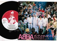"ABBA On And On And On /The Piper JAPAN 7"" SINGLE w/PS DSP-208 Free S&H/P&P"