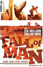 Six Million Dollar Man Fall #3 (Of 5) Comic Book 2016 - Dynamite