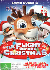 The FLIGHT Before CHRISTMAS DVD CHRISTMAS MOVIES BRAND NEW R4