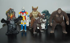 "Godzilla (1983-2004) Bandai all with tags...8"" figures complete (80 figures)"