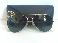 RAY BAN AVIATOR CLASSIC RB3025 L0205 58 Gold / Green Classic G-15 ITALY_