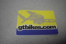 GT BMX Decal Sticker gtbikes.com Freestyle Racing NOS