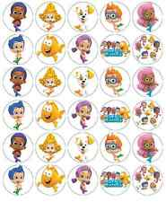 30x Magdalena Toppers Comestible Oblea De Bubble Guppies Papel Hada Cake Toppers