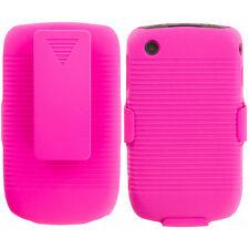 Hot Pink Case Cover Swivel Holster Stand for Hot Pinkberry Curve 3G 9330 9300