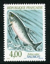 STAMP / TIMBRE FRANCE NEUF N° 2665 ** FAUNE / POISSON / SAUMON