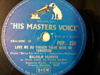 "78 rpm 10"" MALCOLM VAUGHAN love me as though there were"