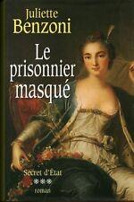 """Livre Roman """" Le Prisonnier Masqué - J. Benzoni """" ( No 1934 )"""