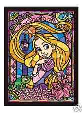 Rapunzel Stained Glass Arts - 266 Pieces Jigsaw Puzzle by Tenyo from Japan