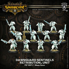 Warmachine: Retribution of Scyrah Dawnguard Sentinels Unit (12) PIP 35073