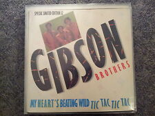 Gibson Brothers - My heart's  beating wild 12'' Vinyl