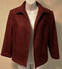 NW  Brooks Brothers Beautiful Womens Blazer Size 12 100% Wool Woven In Italy.