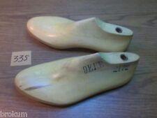 Pair Vintage Wood  Large Size 9 EEE #2172 Shoe Factory Industrial Last  #335
