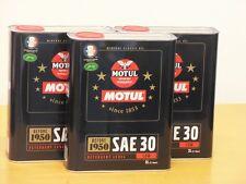 7,70€/l Motul Classic Motor Oil SAE 30  3 x 2 Ltr für Oldtimer vor 1950