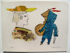 """MAX PAPART """"A SCOTTISH GIRL"""" Hand Signed Limited Edition Etching RARE! #1"""