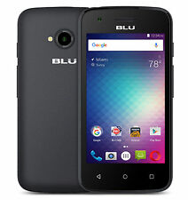 BLU Dash L2 D250U Unlocked GSM Quad-Core Android v6.0 Smartphone - Black