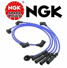 New NGK Set Spark Plug Wires Pickup Truck for Nissan D21 Hardbody Stanza Axxess