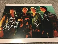 Lost Boys 10x8 Photo Cast Signed Haim, Newlander & Feldman. PROOF.