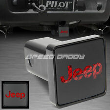 FOR JEEP TRAILER HITCH COVER/RECEIVER W/TAIL/STOP/BRAKE LED LIGHT BULLY CR-007J