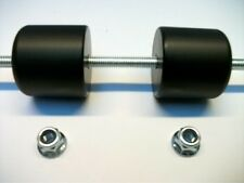 SUZUKI GSF BANDIT 600 95-07 CRASH MUSHROOMS FRONT AXLE SLIDERS BOBBINS BUNGS S5W