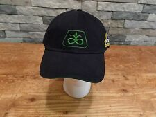 Pioneer Seed Feed Hat Cap 2011 Farm Progress Show Black Velcro Adjustable NEW