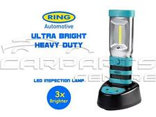 Genuine RING ULTRA LUMINOSA Heavy Duty LED Lampada ispezione ricaricabile Caricabatteria