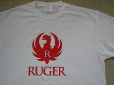 Ruger Company Logo T-Shirt XL Firearms Maker 10/22 Model 77 Blackhawk Vaquero