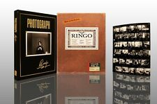 RINGO STARR Photograph SIGNED DELUXE LIMITED of 350 NEW & UNREAD
