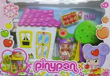 New In Box Famosa Pinypon Apple Tree with House Playset with Doll