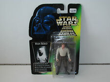 STAR WARS 1996 KENNER POTF2 HAN SOLO CARBONITE MOSC TRI-LOGO