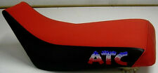 Honda ATC 350x  seat cover with embroidered logo in red/white/blue