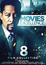 8-Film Collection: Movies of Excellence by Morgan Freeman, Jon Cypher, Rue McCl
