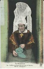 CPA 14 - PARRUCCHIERE vintage dei dintorni da Bayeux dite la Borgogna