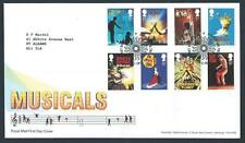 29197) UK - GREAT BRITAIN 2011 FDC Musicals 8v