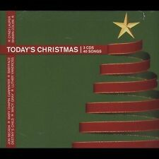 TODAY'S CHRISTMAS -VAR (3CD) KEBMO COVER MATHIS HOOTERS POI VANDROSS COLLINS