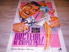 DOCTEUR NE COUPEZ PAS ! affiche cinema pin-up mascii 1963