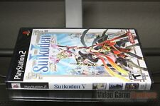Suikoden V 5 (PlayStation 2, PS2 2006) FACTORY Y-FOLD SEALED! - RARE!