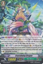 Cardfight Vanguard SOUL STRIKE x 4 Crystalwing Dragon - G-BT04/100EN - C Mint