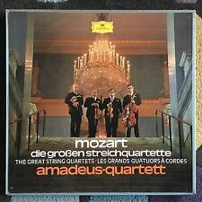 Mozart - The Great String Quartets - 5x LP box - DGG 2720 055 - Amadeus Quartet