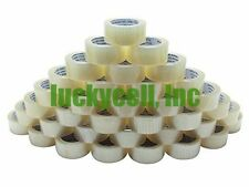 "36 Rolls Box Carton Sealing Packing Packaging Tape 2""x110 Yards (330' ft) Clear"