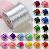 20M Strong Elastic Stretchy Beading Thread Cord Bracelet String For Jewelry DIY