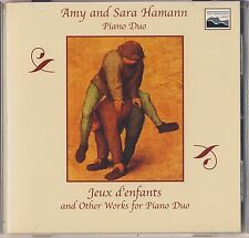 Hamann: Jeux d'enfants and Other Works for Piano Duo (10,000 Lakes) Like New