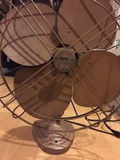 "VINTAGE FAN Arctic Aire 4 Blade Large 15"" Diameter, Art Deco, Electric STEAMPUNK"