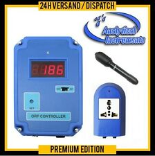 REDOX/ORP-CONTROLLER METER OZONE AQUARIUM POND POOL SWEET+SALT WATER P20