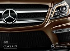 2013 Mercedes Benz GL-Class GL350 GL450 24-page Sales Brochure Catalog - GL550