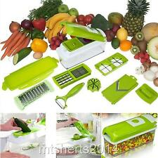Brand NEW HOME Connection Deluxe cubettatrice affettatrice Grattugia Peeler s7