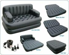 Imported Bestway 5 in 1 inflatable Air Sofa Cum Bed recliner With Electric Pump