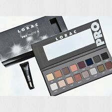 LORAC Pro Palette Eyeshadow # 2 Colors Matte  Shimmer  Eye Primer  New In Box